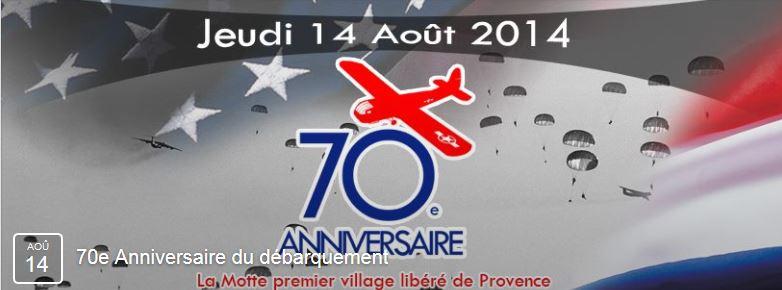 70 e anniversaire du débarquement de Provence